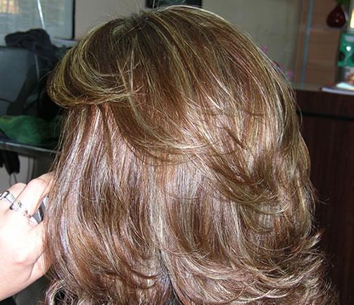 Layered Haircut Affordable Hair Salon Northridge Hair Coloring
